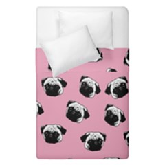 Pug dog pattern Duvet Cover Double Side (Single Size)