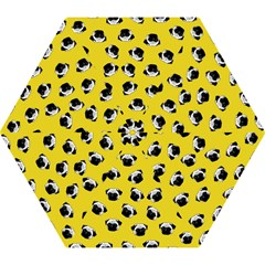 Pug dog pattern Mini Folding Umbrellas