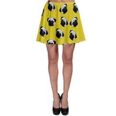 Pug dog pattern Skater Skirt