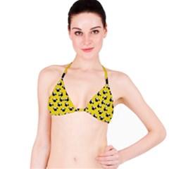 Pug dog pattern Bikini Top