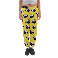 Pug dog pattern Women s Jogger Sweatpants
