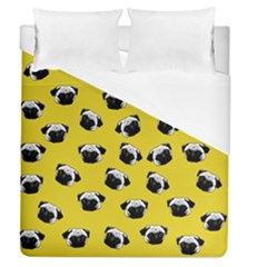 Pug dog pattern Duvet Cover (Queen Size)