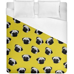 Pug dog pattern Duvet Cover (California King Size)