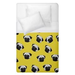 Pug dog pattern Duvet Cover (Single Size)