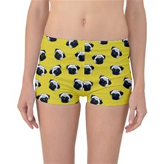 Pug dog pattern Reversible Bikini Bottoms