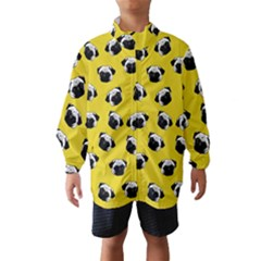 Pug dog pattern Wind Breaker (Kids)