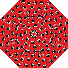 Pug dog pattern Straight Umbrellas