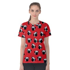 Pug dog pattern Women s Cotton Tee