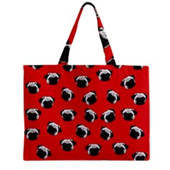 Pug dog pattern Mini Tote Bag