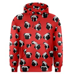 Pug dog pattern Men s Pullover Hoodie