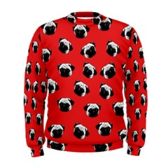 Pug dog pattern Men s Sweatshirt