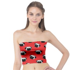 Pug dog pattern Tube Top