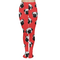 Pug dog pattern Women s Tights