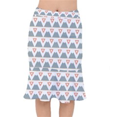 Triangles And Other Shapes               Short Mermaid Skirt