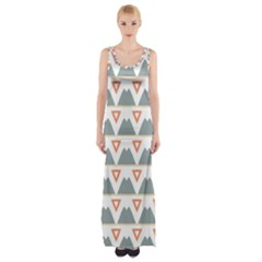 Triangles and other shapes           Maxi Thigh Split Dress