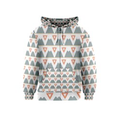 Triangles and other shapes           Kids Zipper Hoodie