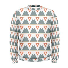 Triangles and other shapes            Men s Sweatshirt