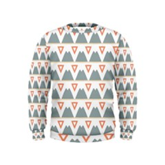 Triangles and other shapes            Kid s Sweatshirt