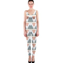 Triangles and other shapes           OnePiece Catsuit