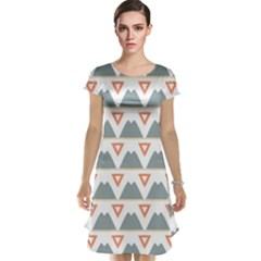 Triangles and other shapes           Cap Sleeve Nightdress