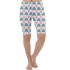 Triangles and other shapes           Cropped Leggings