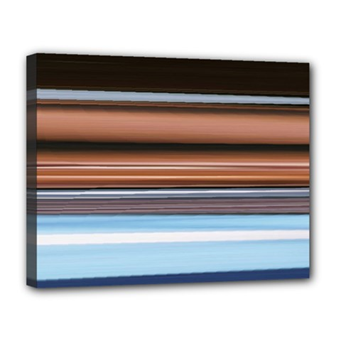 Color Screen Grinding Canvas 14  X 11