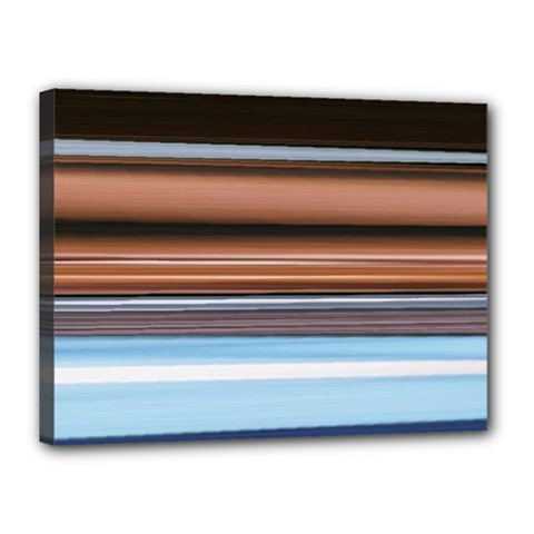 Color Screen Grinding Canvas 16  X 12