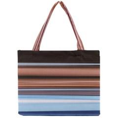 Color Screen Grinding Mini Tote Bag