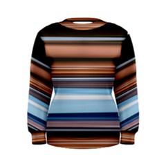 Color Screen Grinding Women s Sweatshirt