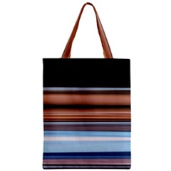Color Screen Grinding Zipper Classic Tote Bag