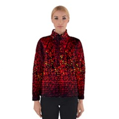 Red Particles Background Winterwear