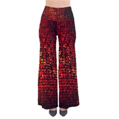 Red Particles Background Pants