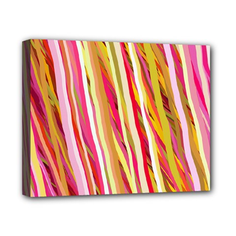 Color Ribbons Background Wallpaper Canvas 10  x 8