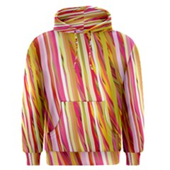 Color Ribbons Background Wallpaper Men s Pullover Hoodie