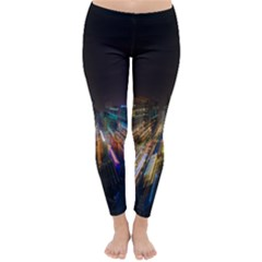 Frozen In Time Classic Winter Leggings