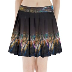 Frozen In Time Pleated Mini Skirt
