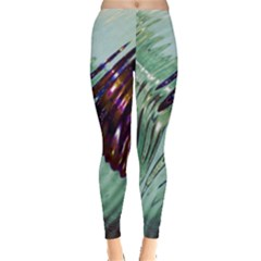 Out Of Time Glass Pearl Flowag Leggings