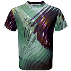 Out Of Time Glass Pearl Flowag Men s Cotton Tee