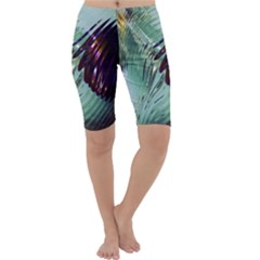 Out Of Time Glass Pearl Flowag Cropped Leggings