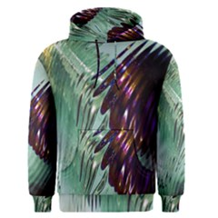 Out Of Time Glass Pearl Flowag Men s Pullover Hoodie