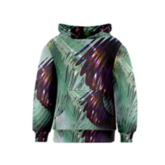 Out Of Time Glass Pearl Flowag Kids  Pullover Hoodie