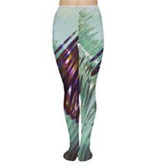 Out Of Time Glass Pearl Flowag Women s Tights
