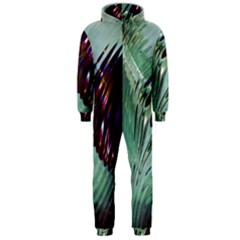 Out Of Time Glass Pearl Flowag Hooded Jumpsuit (men)