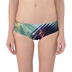 Out Of Time Glass Pearl Flowag Classic Bikini Bottoms