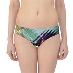 Out Of Time Glass Pearl Flowag Hipster Bikini Bottoms