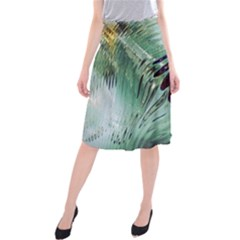 Out Of Time Glass Pearl Flowag Midi Beach Skirt