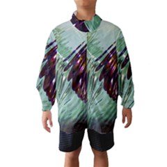Out Of Time Glass Pearl Flowag Wind Breaker (kids)