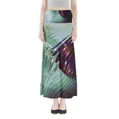 Out Of Time Glass Pearl Flowag Maxi Skirts