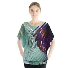 Out Of Time Glass Pearl Flowag Blouse