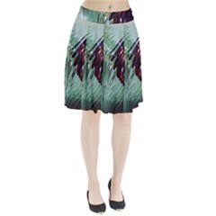 Out Of Time Glass Pearl Flowag Pleated Skirt